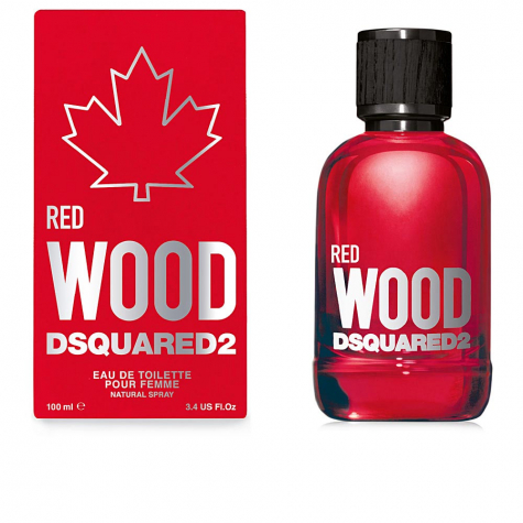 RED WOOD POUR FEMME edt spray 100 ml | DSQUARED2